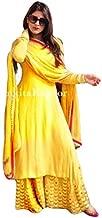 ARANYA Womens Yellow Kurta Set