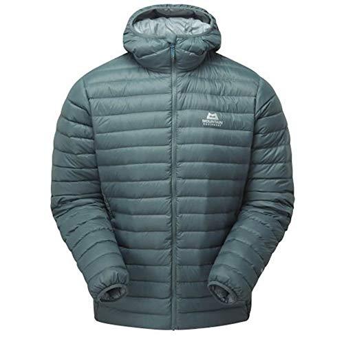 Mountain Equipment Arete Hooded Jacket, XL, Moorland Slate