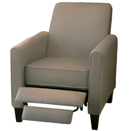 Christopher Knight Home 230340 Lucas Recliner Club Chair, Grey