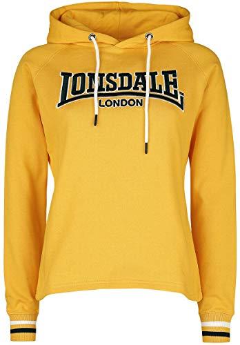Lonsdale Sudadera con Capucha para Mujer Pinhay Lime Yellow. XXL