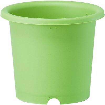 大和プラスチック 菜園鉢 9号 φ290×H250 グリーン