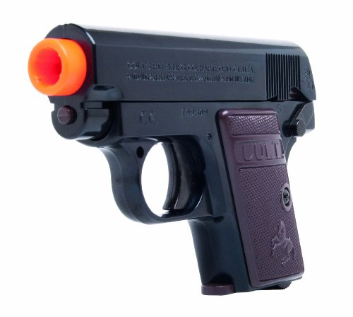 COLT Softair Pistole Mod. 25 War Inc - Marcadora de Paintball (6 mm), Color Negro