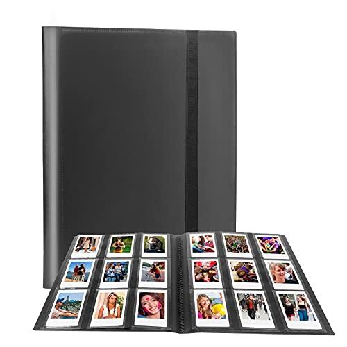 432 Pockets Photo Album for Fujifilm Instax Mini Camera, Polaroid Snap Snap Touch PIC-300 Z2300 Instant Camera, Instax Mini Album for Fujifilm Instax Mini 11 90 70 9 8+ 8 LiPlay Instant Camera (Black)