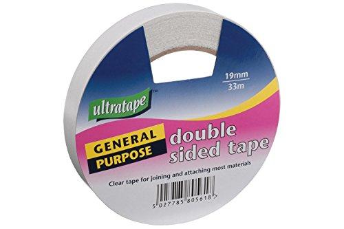 Ultratape | Nastro biadesivo | 19 mm x 33 m