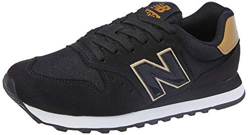 Tênis New Balance, 500, Feminino, Preto HGB, 35