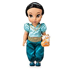 Genuine, original, authentic - created for Disney Store & shopDisney Posable limbs and realistic rooted hair with ribbon accessory Satin top and bottoms with golden lace trims Top features puff sleeves and diamanté detail at neck Comes with a padded ...