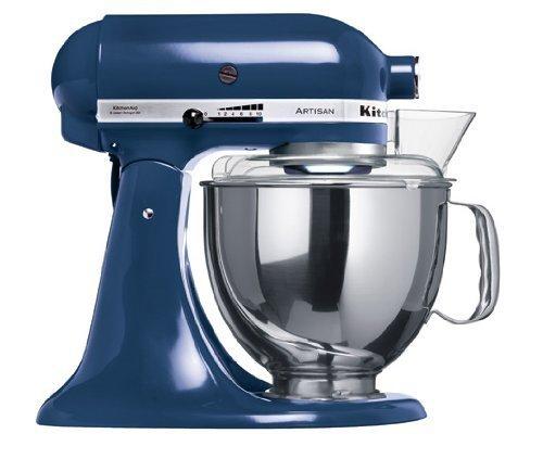 KitchenAid Artisan KSM150PS Robot da Cucina, colore: Blu Atlantico [Importato da Francia]