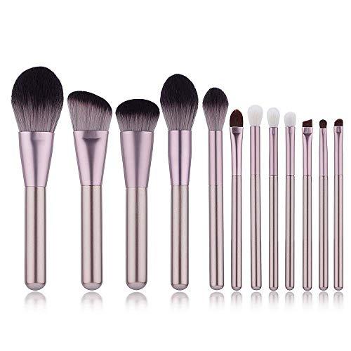 Pinceau De Maquillage Professionnel De Haute Qualité Poudre Faciale Blush Facial Maquillage Maquillage Pour Les Yeux 12 PièCes