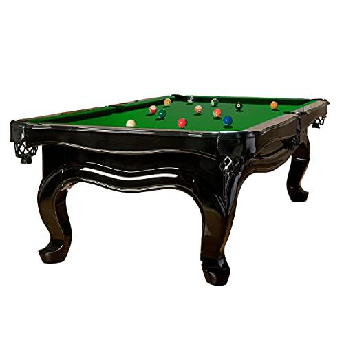 Biliardo-Royal Modello PIANO 2,4 m. Tavolo da biliardo Tuchfarbe verde Dimensioni: 2,4 m.