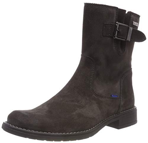 Richter Kinderschuhe Mädchen Mary Biker Boots, Grau (Steel 6500), 33 EU