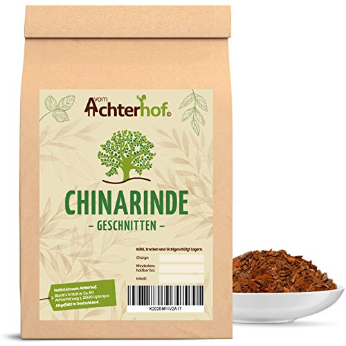 Chinarinde geschnitten | 100g | 100% rein ohne Zusätze | Das Original aus Equador | vom Achterhof
