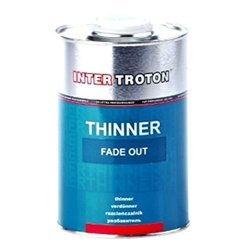 Troton Beispritzverdünnung 1L Spot Blender 2K Beispritzlack Lack Repair Löser