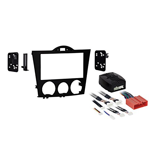 Metra 95-7510 Double DIN Installation Kit for 2004-2008 Mazda RX-8 Vehicles,Black