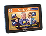LEXIBOOK Tablet Serentity tablette 8'' Avec Applications, Internet, Cloud, appareil Photo, Loisirs, Communication, Interface Simple, traducteur, Wi-Fi, Adaptateur secteur, Noire/Bleu, MFC410FR