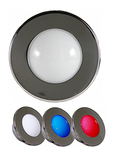 EEYZD Luz de Techo para RV, luz de Paso LED para Yates, Adecuada para iluminación de Cabina de Cubierta Interior, yate, decoración y decoración subterránea, iluminación de Escalera giratoria