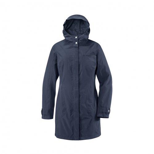 VAUDE Women's Sina Coat Veste de Pluie II Cobalt Bleu 46