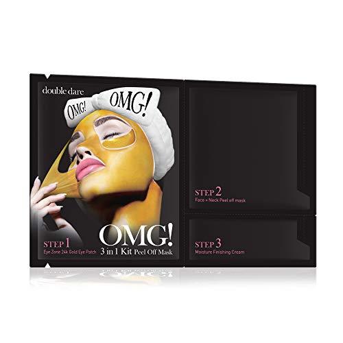 DOUBLE DARE 3 in 1 Kit Peel Off Mask