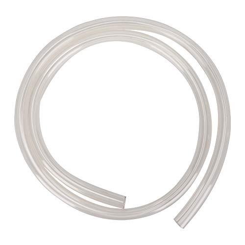 Bewinner Soft Tubing Wasserkühlung, Universal Slim Computer PVC Wasserkühlrohr Soft Tube 9,5x12,7 mm Perfekt für Computer-Wasserkühlung, Hochtransparente Wasserkühlschläuche(transparent)