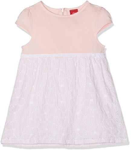 s.Oliver Baby-Mädchen 65.903.82.5341 Kleid, Rosa (Light Rose AOP 41a1), (Herstellergröße: 86)