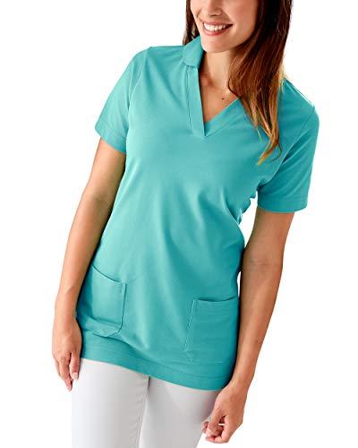 CLINIC DRESS Longshirt Aqua Green 50/52