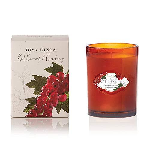 Rosy Rings シグネチャーガラス - レッドカラント&クランベリー
