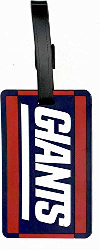 aminco New York Giants - NFL Soft Luggage Bag Tag