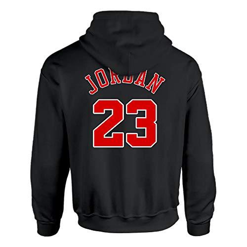Michael Jordan Chicago Bulls Hoodie 23 Air Jordan Jumpman, S Black