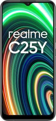 Realme C25Y (Metal Grey, 128 GB) (4 GB RAM)