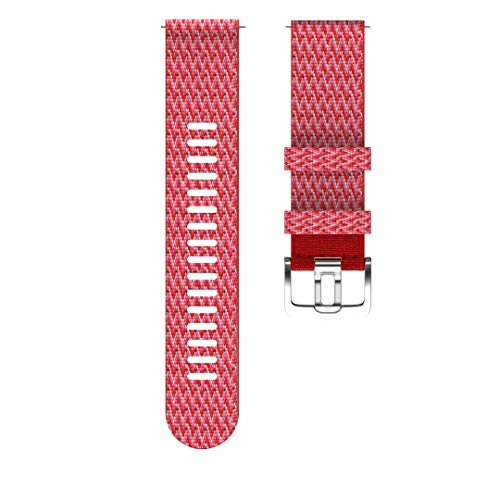 Polar Unisex– Erwachsene Wrist Band 22 mm Uhrenarmband, Rot, S/M