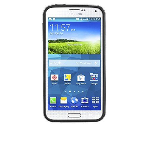 Case-Mate CM030863 Slim Foliotasche/Bookstyle für das Galaxy S5/S5 Neo in Schwarz - Designed for Samsung Designed for Samsung