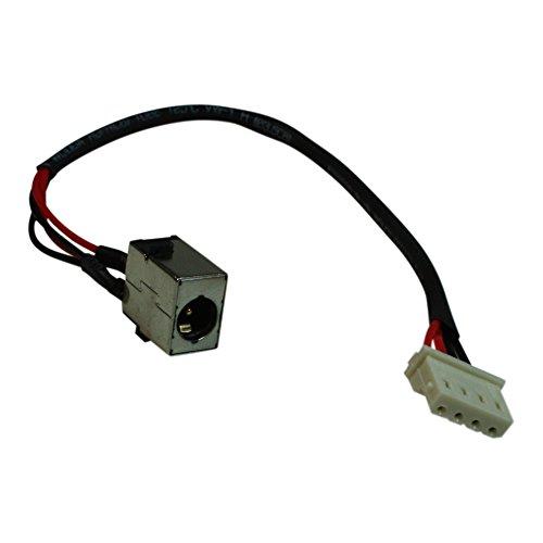 Power4Laptops Conector de alimentación portátil con Cable Compatible con Acer Aspire E5-573
