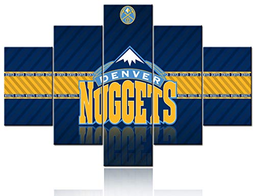 Denver Nuggets NBA Framed 8x10 Photograph Team Logo and Basketball
