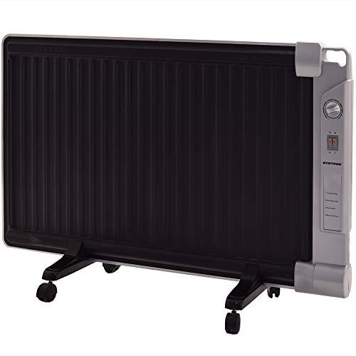 Syntrox Germany - Stufa ibrida GH-2400 Watt, stufa radiante e radiatore ad olio in una stufa a infrarossi
