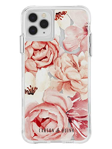 Carson & Quinn Watercolor Flowers Case - iPhone 11 Pro Max/Xs Max