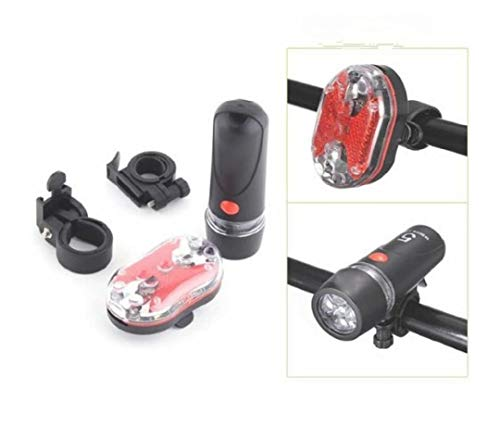 POWER PLUS Made in India Newly Designed Cool & Trendy Multipurpose Combination of Head & Tail Type Cycle Light