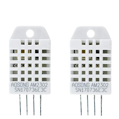 Amazon.es - 2pcs DHT22/AM2302 Digital Temperature and Humidity Sensor