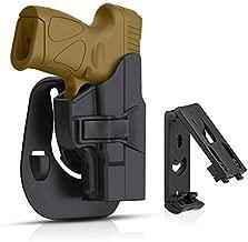 efluky Taurus Millennium G2 G2C PT111 OWB Holster for PT132 PT138 PT140 PT145 PT745 (not pro) Pistols, Trigger Release 60° Adjustable Cant, Right-Handed
