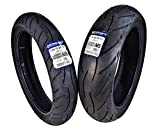 Metzeler Sportec M5 Front and Rear Motorcycle Radial Sport Bike Tires Set (120/70ZR17 Front 170/60ZR17)