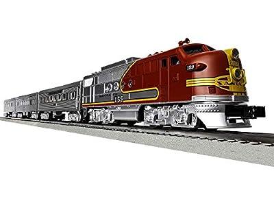 Lionel Santa Fe Super Chief Electric O Gauge Model Train Set w/ Remote and Bluetooth Capability