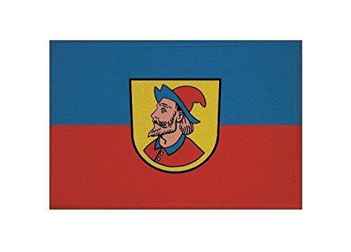U24 Aufnäher Heidenheim an der Brenz Fahne Flagge Aufbügler Patch 9 x 6 cm