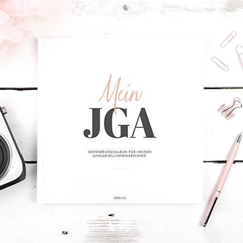 JGA Erinnerungsbuch, Mein JGA Buch mit 48 Seiten für den Junggesellinnenabschied, Platz für Ideen, Wünsche, Fotos, Hochzeit, Frau