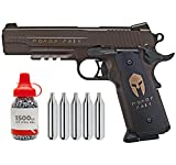Sіg Sauer 1911 Spartan .177 Cal Blowback CO2 BB Air Pistol with Wearable4U 1500 BBS and 5x12g CO2 Bundle