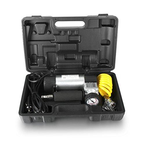 Compresor de aire de alta velocidad de 150 PSI 12 V para coche, furgoneta, inflador de neumáticos, kit de herramientas de motor para neumáticos de bicicleta, Ttre, bolas, barco neumático