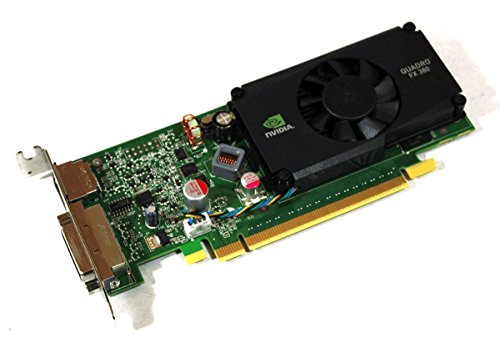 Original PNY NVIDIA Quadro FX 380 PCIe Video Karte Low Profile vcqfx380lp-t