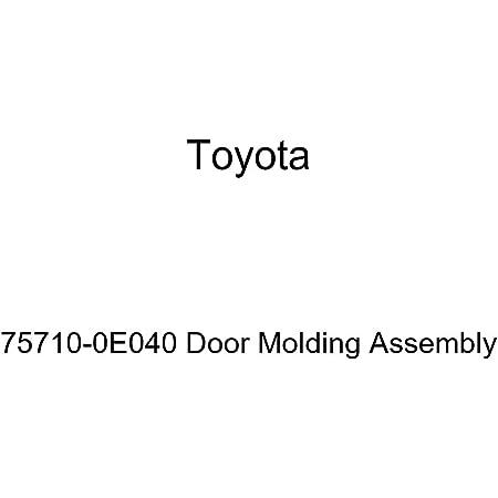 Genuine Toyota 75740-0E040 Door Molding Assembly