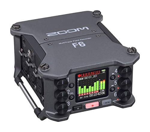 Zoom - F6 - multitrack field recorder