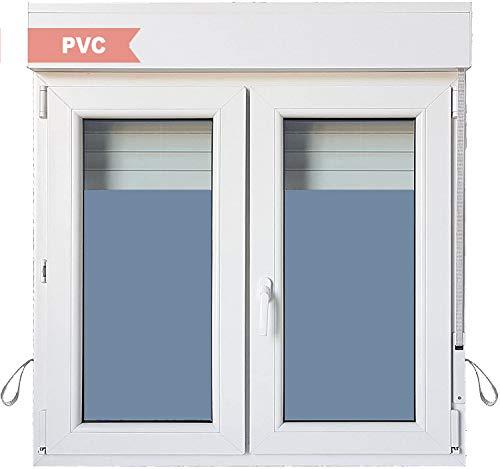 Ventana PVC Practicable Oscilobatiente 2 hojas con Persiana (PVC) 1200 ancho x 1155 alto