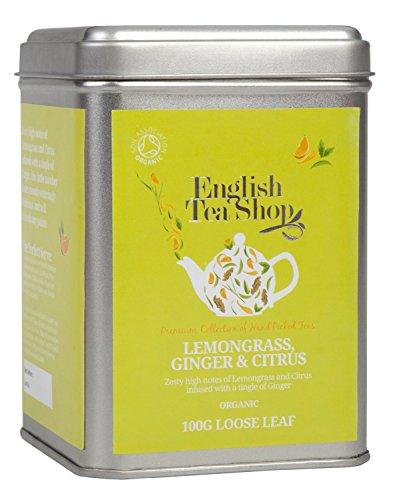 English Tea Shop - Lemongras, Ingwer und Zitrusfrüchte, BIO, Loser Tee, 100g Dose