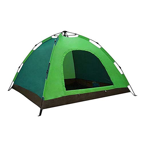 ZHHWYP Camping Tent, 2-3 Person Automatic Tourist Tent, Spring Outdoor Automatic Tent,G