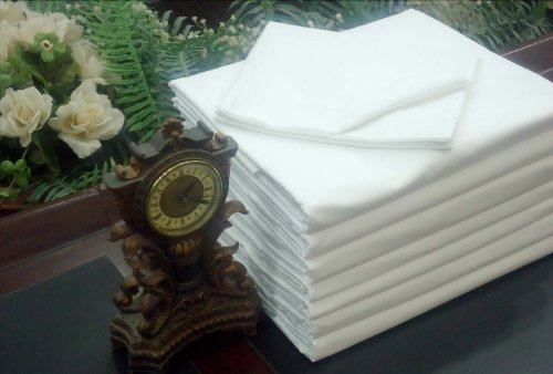 1 New Best Quality Flat White Queen Bed Sheet T-250 Percale Hotel Linen Christmas Eve Bed Sheets Sale